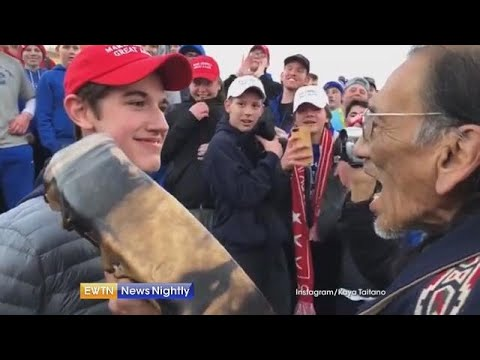 Catholic teen in viral video says he sought to calm tension - ENN 2019-01-21