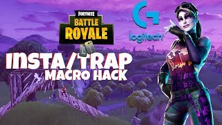 FORTNITE NEW GLITCH INSTANT TRAP FOR (LOGITECH) MACRO HACK