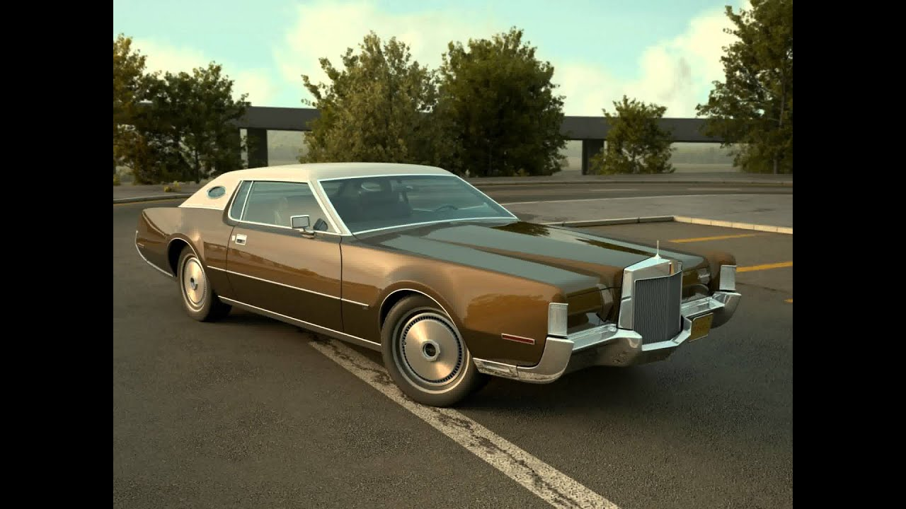 3d model of lincoln continental mark iv 1972 review youtube. Black Bedroom Furniture Sets. Home Design Ideas