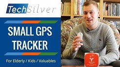 Small GPS Tracker (For Dementia / Elderly, Kids & Valuables) - Peace of Mind. Feature Review [2019]