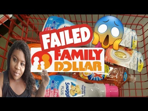 Family Dollar  FAILED🤦‍♀️couponing SOMETHING YOU NEED TO KNOW