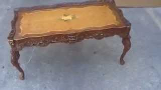 French Style Wooden Table