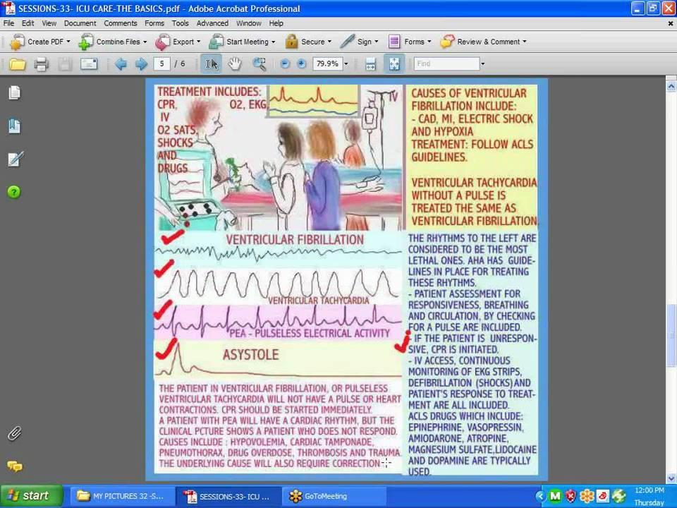 SESSIONS FOR NURSES 33- ICU-CCU CARE - The Basics
