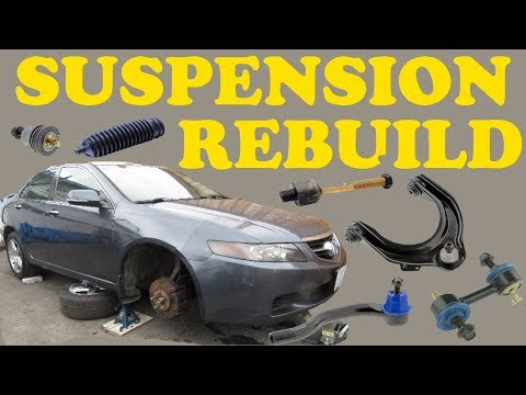 How to Replace Control arms, Tie Rods and Stabilizer Links