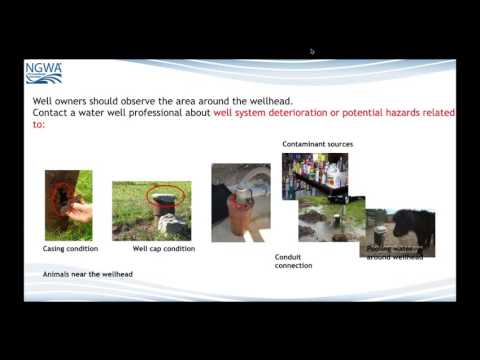 The Importance of Water Well Inspections to Health and System Operation Well Owner