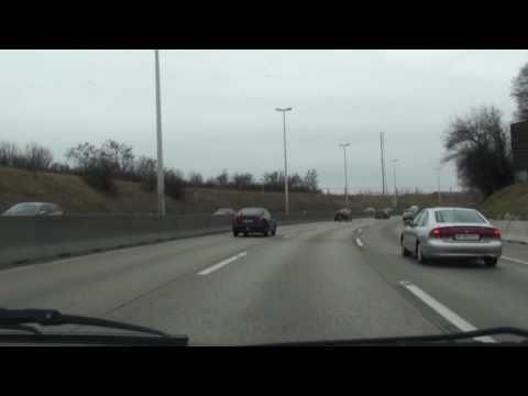 Motorways around Vienna