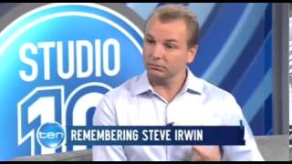 wildlife cameraman talks about steve irwin s death for first time
