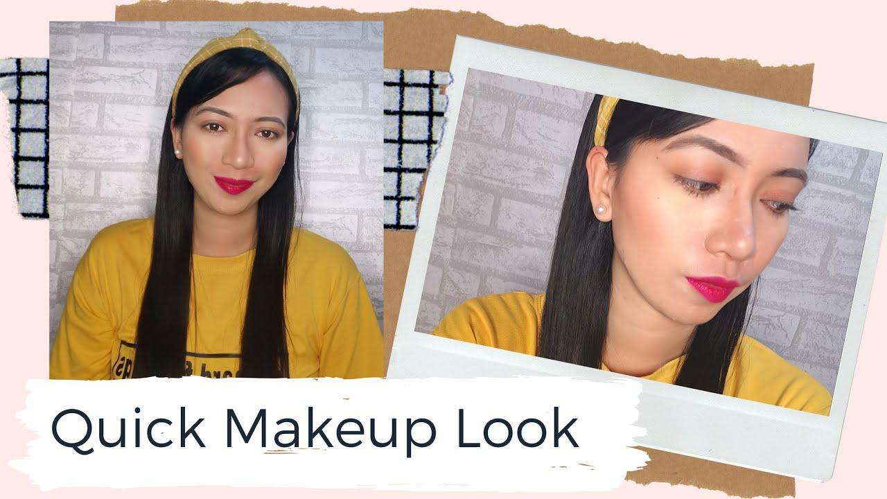 Quick Makeup| Simple Makeup Tutorial