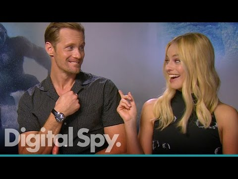 The Legend of Tarzan: Alexander Skarsgård & Margot Robbie on possible sequel and role reversal