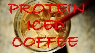 My Protein Iced Coffee