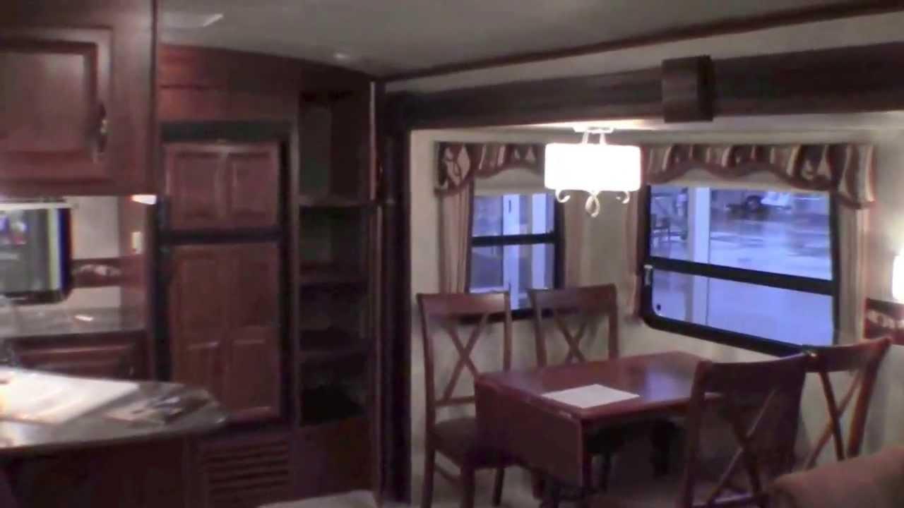 2013 Cougar X Lite 31u0027 Rear Kitchen Travel Trailer