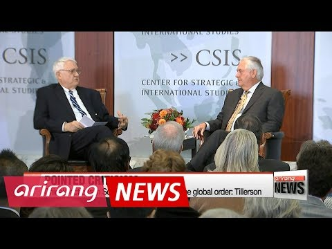 Tillerson criticizes China for provocative actions in South China Sea