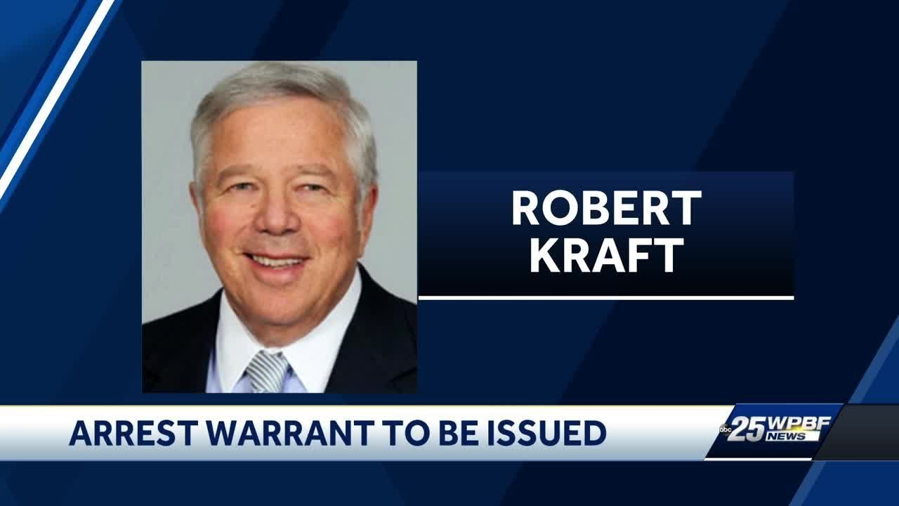 Arrest warrant to be issued for Robert Kraft - YouTube