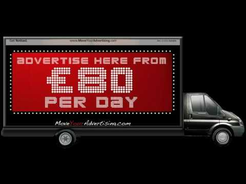 Mobile Outdoor Advertising Glasgow - Arc Mobile Adverts