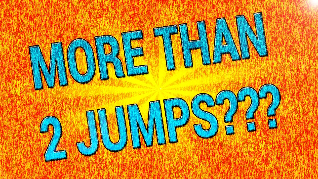 Clickteam Fusion   more than 2 jumps