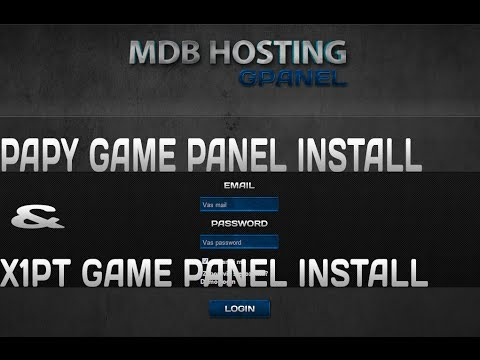 How To Install Papy Game Panel & X1PT GAME PANEL + FREE TEMPLATES ...