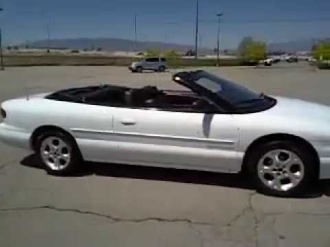 2000, Chrysler, Sebring, Convertable, jxi, infinity stereo, leather seats, for sale, Utah,