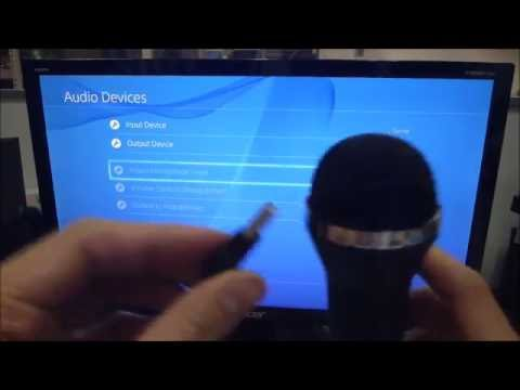 how to setup universal usb wired microphone for ps4 youtube. Black Bedroom Furniture Sets. Home Design Ideas