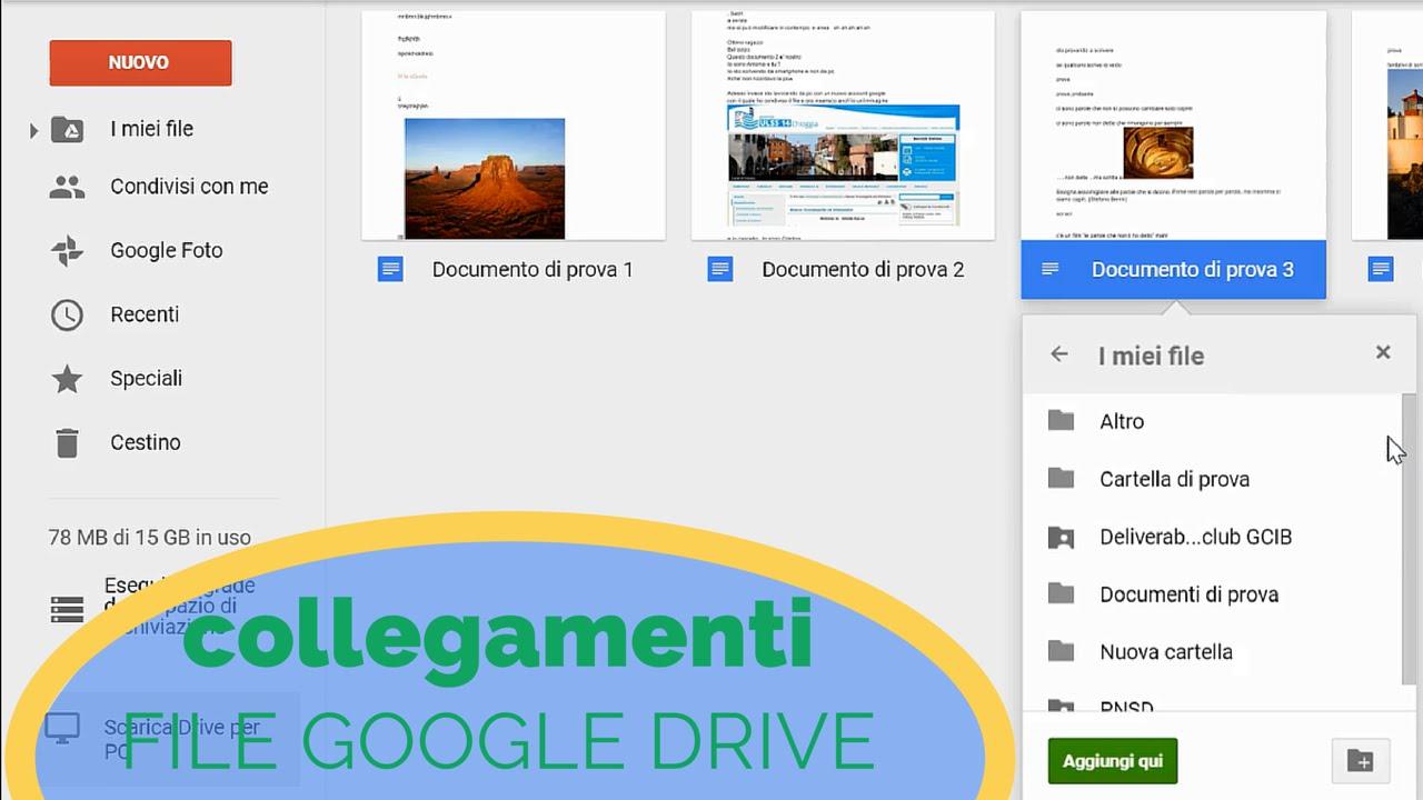 intera cartella google drive