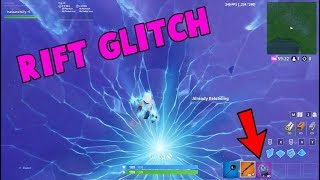 Fortnite How to Shoot In Rift Glitch Season 9