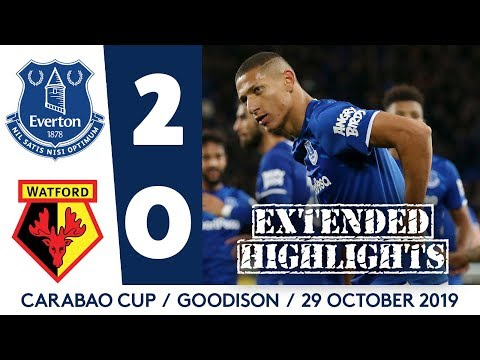 EXTENDED HIGHLIGHTS: EVERTON 2-0 WATFORD | BLUES INTO CARABAO CUP QUARTER-FINALS!