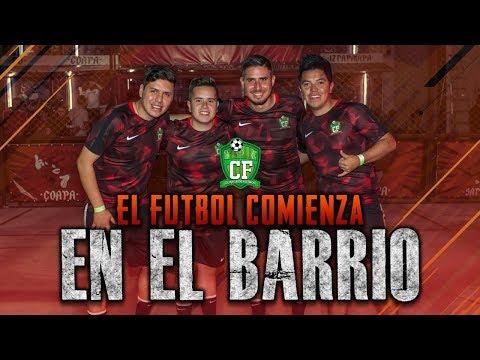 CLINICA DE FUTBOL - RETAS DE BARRIOS