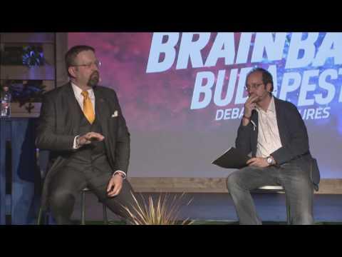 WARS VS VIDEO GAMES (Santeri Koivisto, Dr. Sebastian Gorka at Brain Bar Budapest)
