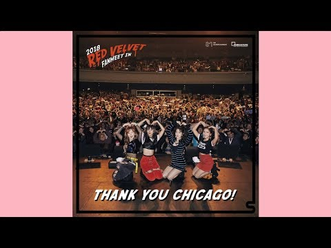 🍰Red Velvet 레드벨벳 Fanmeet In Chicago | sugabey