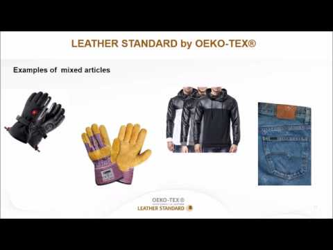 Webinar LEATHER STANDARD by OEKO TEX®: Confidence in Leather