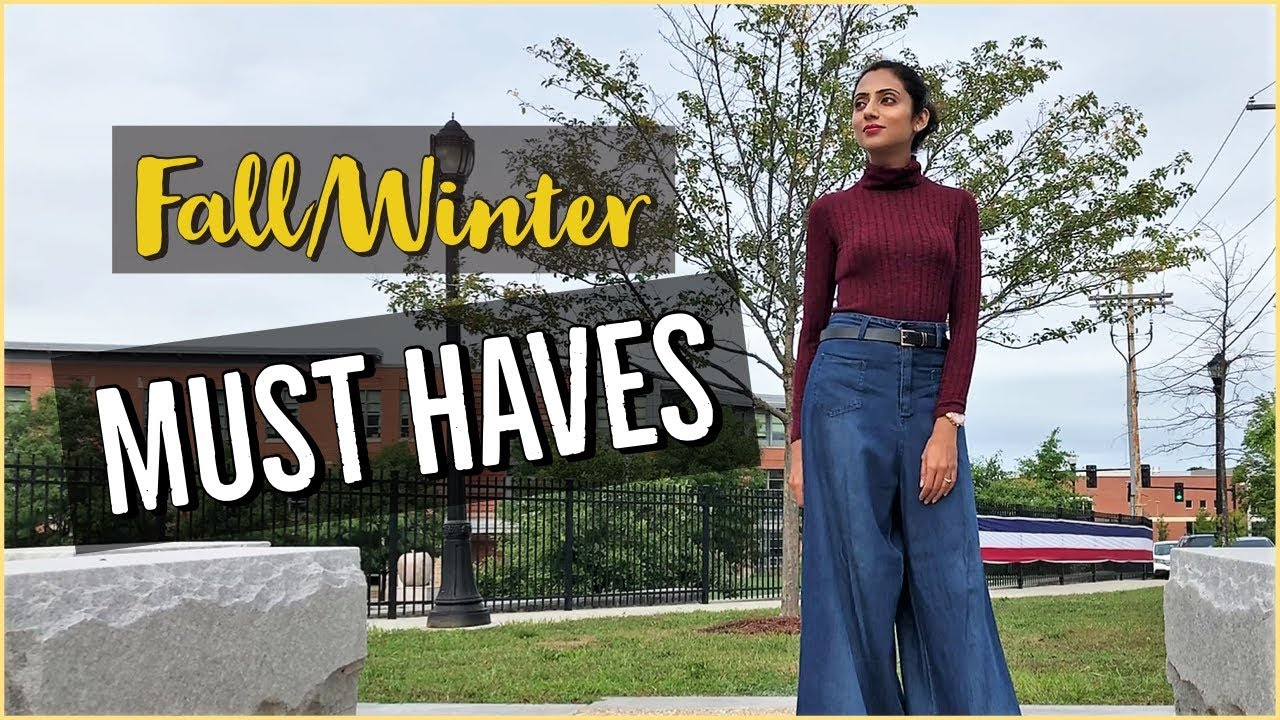 [VIDEO] - Fall/Winter Must Haves   Wardrobe Essentials   Himani Aggarwal 5
