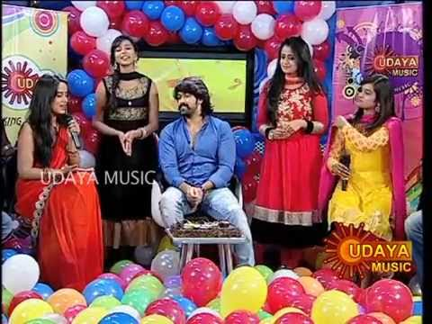 UDAYA MUSIC  ANNIVERSARY SPECIAL WITH ROCKING STAR YASH