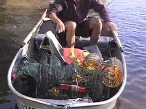 how to catch crawfish in a river