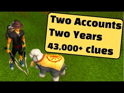 Loot From Over 43,000 Elite And Master Clue Scrolls - 2 Years In 10 Minutes [RuneScape 3]