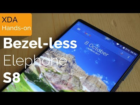 Hands-on with the Bezel-less Elephone S8 (Under $250!)