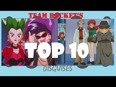 Team Rocket's Top Ten Disguises