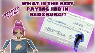 What Are The Best Jobs in Roblox Bloxburg? (updated 2019)