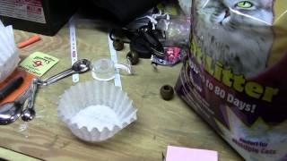 How to make your own silica desiccant packs