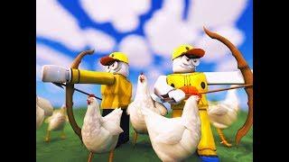 L'armée de canard VS L'Empire du poulet! (Roblox)