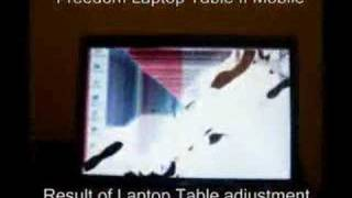 Freedom Furniture Laptop Table Destroys Acer Ferrari Laptop