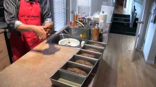 Day 50: Baking With Luc: Baking Cherry Rye Bread