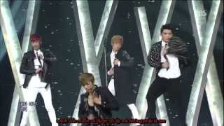 [vietsub]  TEEN TOP - Missing You live HD (comeback stage)