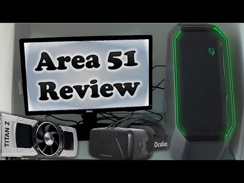 2014 Alienware Area 51 With Titan Z Unboxing, Review and Benchmarks