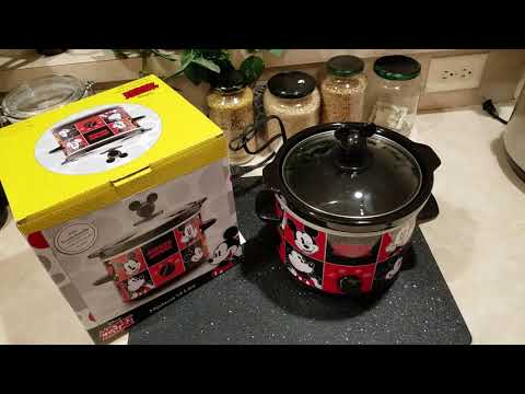 My NEW Mickey Mouse 2Qt  Slow Cooker!!!