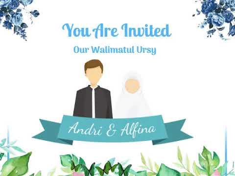 Software Video Animasi Undangan Pernikahan