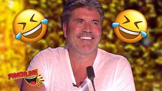 Simon Cowell's FUNNIEST  Golden Buzzer Audition On Britain's Got Talent