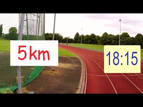 Trying 5k Run At Athletics Track – 18:15