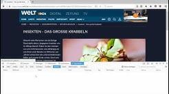 Welt-/N24-Mediathek Download-Tutorial