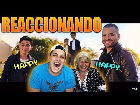 REACCIONANDO CON MI MAMA A: Nacho - Happy Happy Los Mendoza