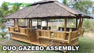 Bamboo Grove Furniture - Duo Gazebo Assembly