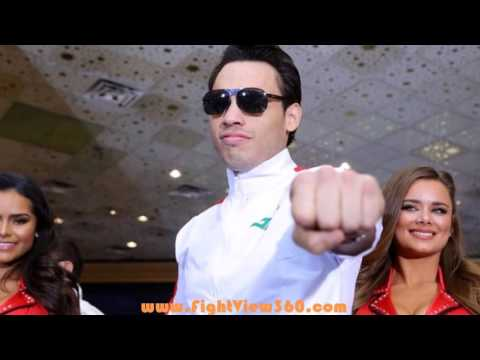 FIGHT WEEK! JULIO CESAR CHAVEZ JR TALKS TO MEDIA VIA CONFERENCE CALL! CANELO VS CHAVEZ JR 5/6/17